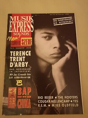 Musik Express Sounds Zeitschrift 1987 Nr. 12 (BAP, R.E.M, Barry White)