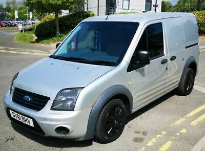 FORD TRANSIT CONNECT 1.8TDCi SMALL CHEAP PANEL VAN T200 SWB TREND SILVER