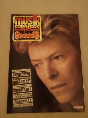 Musik Express Sounds Zeitschrift 1983 Nr. 6 (David Bowie, Iron Maiden)