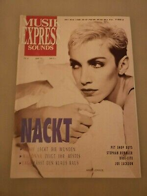 Musik Express Sounds Zeitschrift 1991 Nr. 6 (Joe Jackson, Madonna, Pet Shop Boys