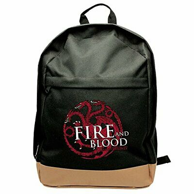 ?Game of Thrones?-Abybag150,45cm, House of Targaryen Fire and Blood-Rucksack (