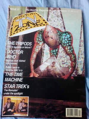 TV Zone issue 17 - The Tripods, Doctor Who, Star Trek, The Time Machine