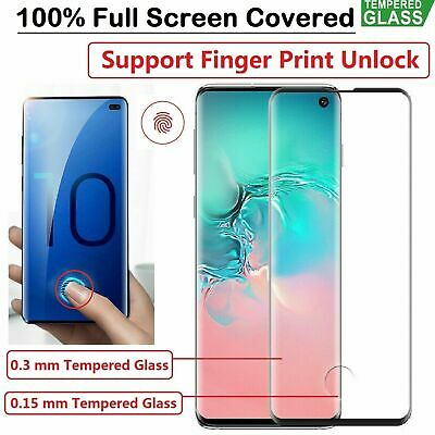Samsung Galaxy s6 s7 s8 s9 S10 note 9 Tempered Glass Screen Protector  5D Curve