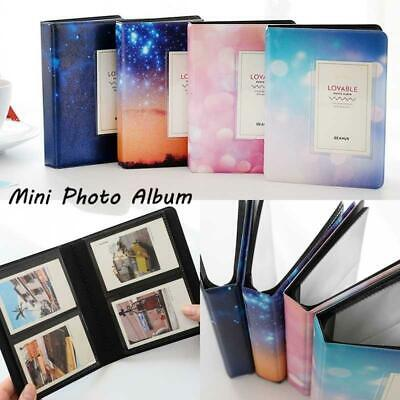 3 Inch 64 Pockets Photo Album for Polaroid Fuji Instax mini 9 8 7S 90 70 50 25S