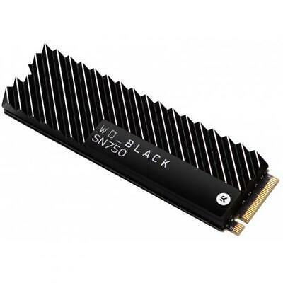 WD Black SN750 500GB M.2 NVMe SSD Read up to 3470MB/s , Write up to 2600MB/s, PC