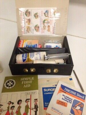 First Aid Kit Ombo Vintage Collectable. READ ALL Description