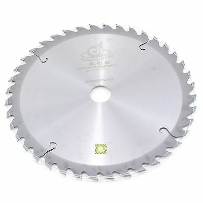 "9"" inch 230mm x 40T x 25.4mm Tct Circular Saw Blade For Wood Cutting Carpentry"