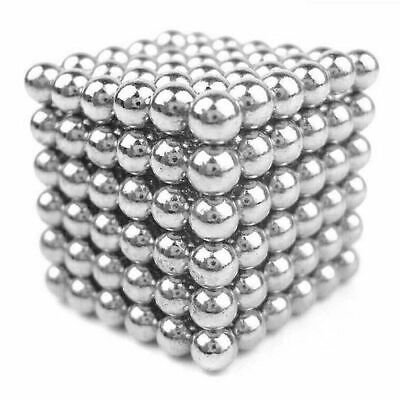 Magnetic Balls Desk Coffee Table Toy Stress ADHD Silver Metal Magnet Build Play