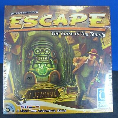 Escape: The Curse Of The Temple Board Game NEW AND SEALED 2019 REPRINT