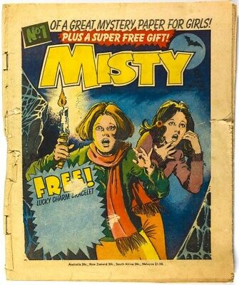 MISTY COMIC No.1 magazine FIRST launch debut 1st ISSUE number # February 4 1978