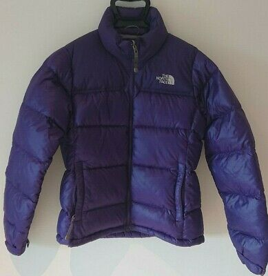 Women''s North Face Nuptse 700 Down PURPLE Puffer Jacket Size: Small (S)