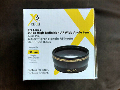 Xit Photo Pro Series 0.43x High Definition AF Wide Angle Lens