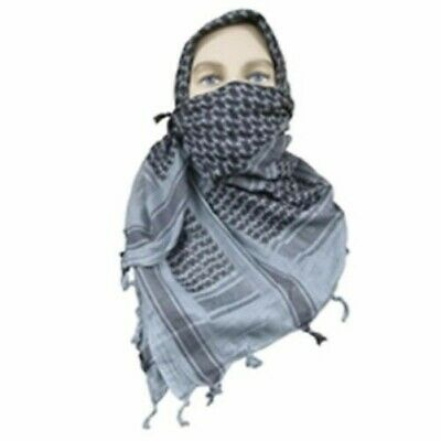 """5ive Star Gear Soft and Breathable 100% Cotton Weave Desert Scarf - 42"""" x 42"""""""