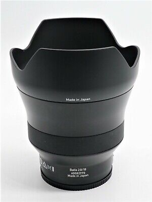 ***Used***Zeiss Batis 18mm F2.8 for Sony FE