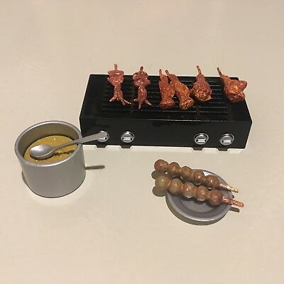 1:6 Scale Dollhouse Orcara Caca Food Set #4 Canteen Store Miniature Mini