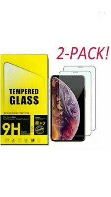 Screen Protector For Apple iPhone X & Xs-100% Genuine Tempered Glass . UK Seller
