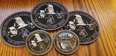 Star Wars Celebration Chicago 2019 Challenge Coin & Patch set - Band of Brothers