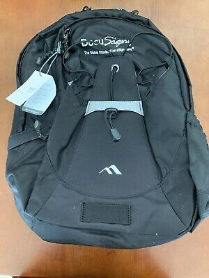 "Brenthaven Pacific Backpack Fits Laptop up 15.6"" Brand New w/Tags DocuSign"