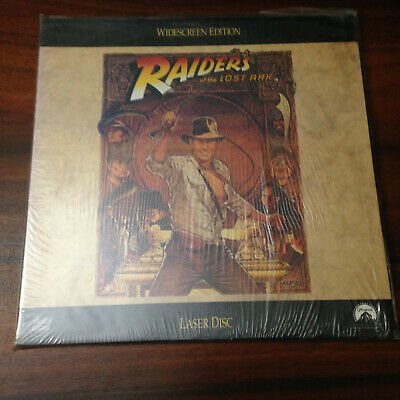 Laserdisc - NTSC -  Raiders of the Lost Ark LV1376-WS  US Release