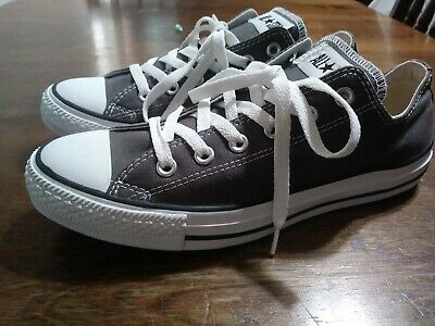 CONVERSE Unisex Chuck Taylor All Star Gray Athletic Sneakers Skate Shoes 8m 10w