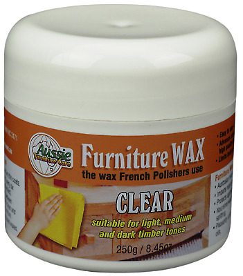 Aussie Furniture Care Beeswax Furniture Polish Clear 250gr