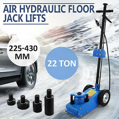 22Ton Super Low Profile Lift Floor Air Hydraulic Truck Trolley Jack Sell Ship