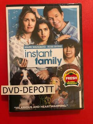Instant Family 2019 DVD **AUTHENTIC DVD READ DESCRIPTION* New FAST Free Shipping