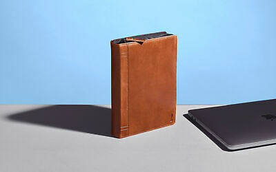 New  Twelvesouth Journal Caddysack Pouch Case Brown 12-1808