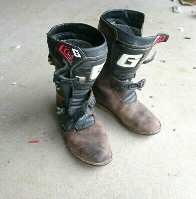 Gaerne Trials Boots - Balance Oiled Brown (Size - UK 10 / Euro 45)