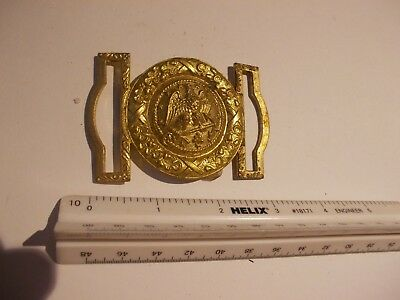 Vintage Spanish Naval Belt Buckle - Stamped NS Meyer - Good Condtion