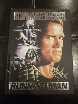 Running Man 4-Disc Bluray Limited Collector's Edition Mediabook German Exclusive