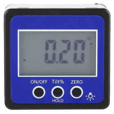 New 4*90 Degree Digital LCD Display Protractor Inclinometer Leveling Instrument