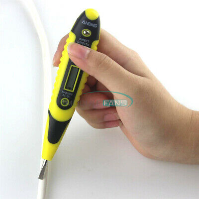 Digital LCD Display AC/DC Non-Contact  Voltage Detector Tester Electric Test Pen