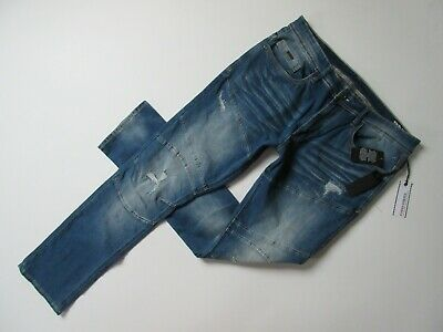 NWT BUFFALO David Bitton Super Max-X in Blasted & Damaged Ultra Skinny Jeans 36