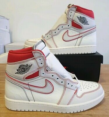 new style dad82 0dac1 Nike Air Jordan 1 Retro High OG Phantom Sail UK 9 US 10 EU 44 555088