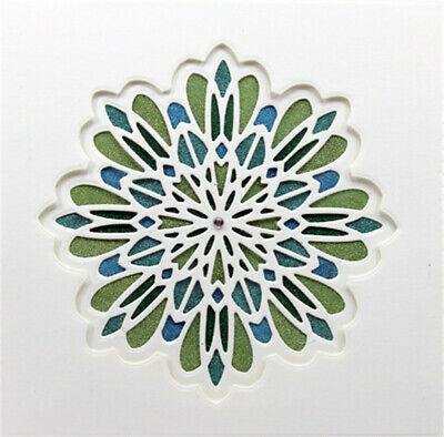 Multi Layered Floral Frame Dies Cut Flower Metal Cutting Dies Stamp for Craft