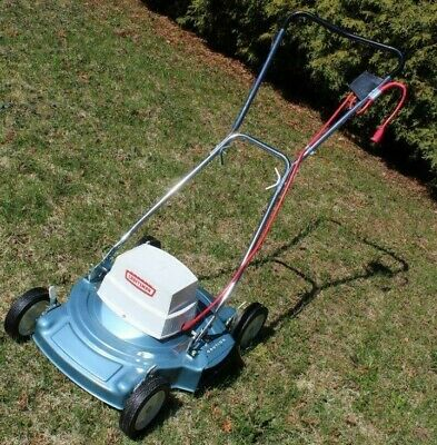 Vintage Sears Craftsman Electric Lawn Mower from the 70's, NEW EXTREMELY RARE !
