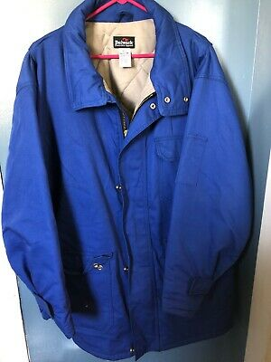 Bulwark Deluxe Parka Protective Apperal Flame Retardent XXL Blue Preowned