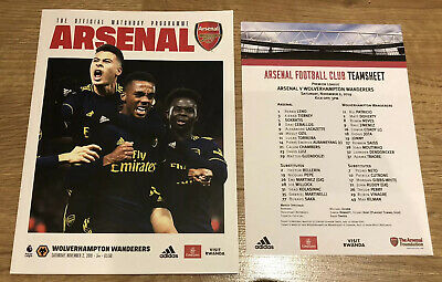Arsenal v Brighton & Hove Albion Programme +Drinks Menu + Event Pin 5th May 2019