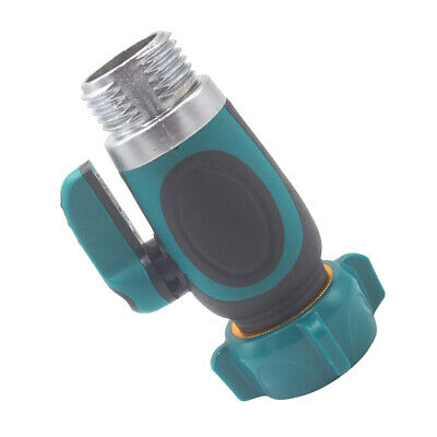 universal garden hose pipe water flow control tap//valve,male//female click-lock