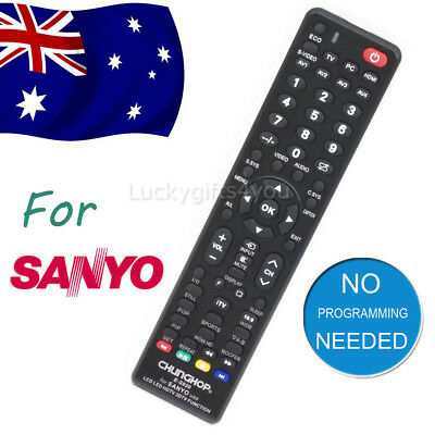 Universal Smart TV Remote Control For SANYO 3D LCD LED HD TV Replacement NEW
