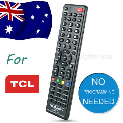 Universal TCL Smart TV NO PROGRAMMING 3D HDTV LED LCD Remote Controls Controller