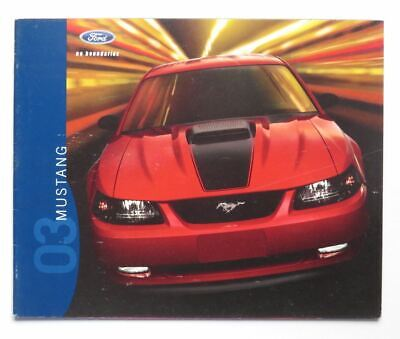 Mint! 2004 Ford Mustang Coupe GT Mach l 40th Anniversary NOS Sales Brochure