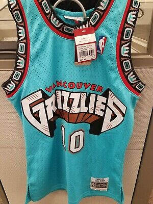 3ed2d769 Mitchell & Ness Mike Bibby Vancouver Grizzlies NBA Swingman 98-99 Jersey  small