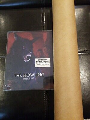 The Howling Limited Edition Bluray Steelbook Scream Factory with poster NEW