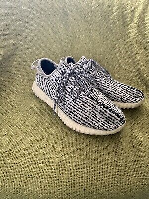 4592184d2 ADIDAS YEEZY BOOST 350 TURTLE DOVE SLIPPERS PlUSH KICKS SIZE 7 ...