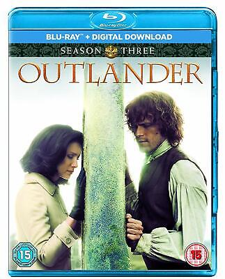 Outlander Season 3 Blu-ray Boxset Brand NEW Sealed 5050629911411