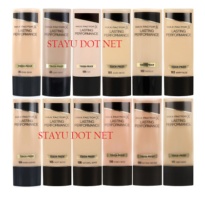 Max Factor Foundation Lasting Performance Touch-Proof 35ml - Assorted