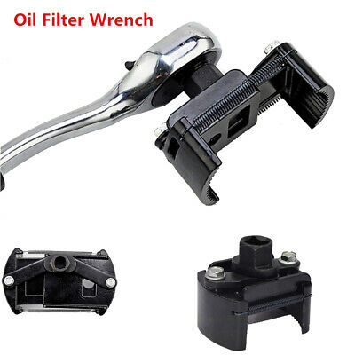 """Auto-Tool Oil Filter Wrench Cup 1/2"""" Housing Spanner Remover 60-80mm Adjustable."""