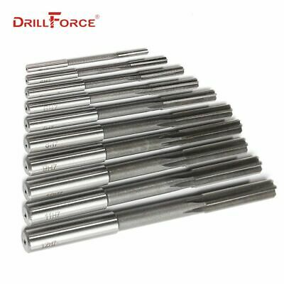 3.00mm to 3.98mm H7 Machine HSS Straight Shank Milling Reamer Select Size